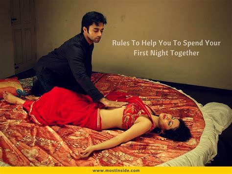how to do first night rules to help you to spend your first night together
