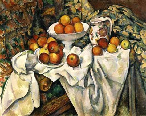 paul cezanne cuadros paul c 233 zanne still life with apples and oranges