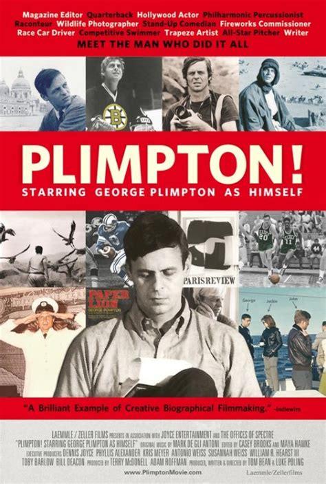 up film rotten tomatoes plimpton starring george plimpton as himself rotten