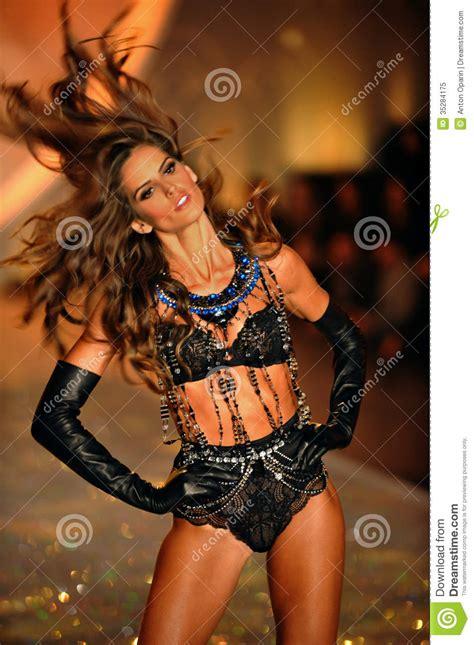 Sho Secret new york ny november 13 model izabel goulart walks in
