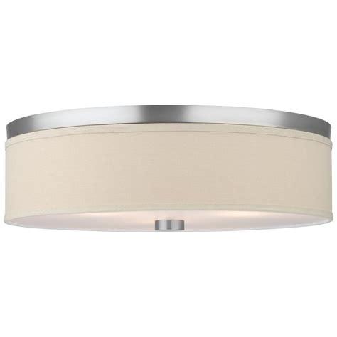 Philips Light Fixture Philips Embarcadero 3 Light Satin Nickel Ceiling Fixture F131936 The Home Depot