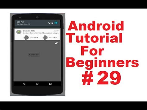 Android Tutorial For Beginners Video   android tutorial for beginners 29 action bar actionbar