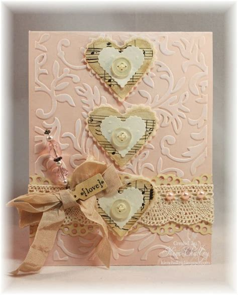 Handmade Vintage Cards - 17 best images about cards shabby chic on