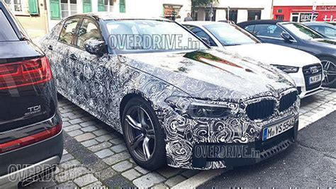 world exclusive  bmw  facelift spied