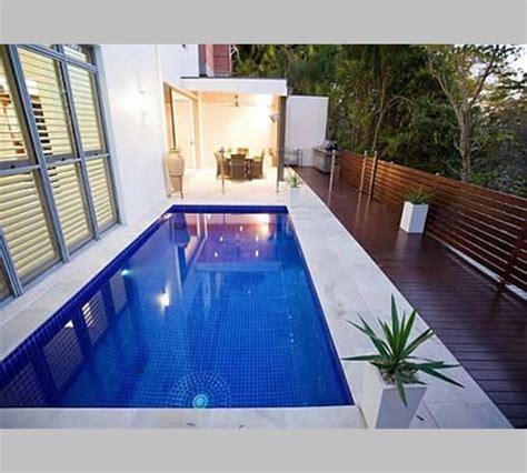 desain rumah  kolam renang mini kecil  taman terbaru