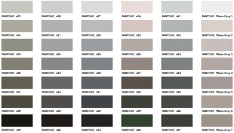 shades of grey color chart shades of gray at the kellogg collection the kellogg collection
