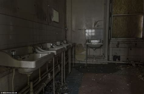 boarding school bathrooms frozen in time dusty textbooks and unfinished homework