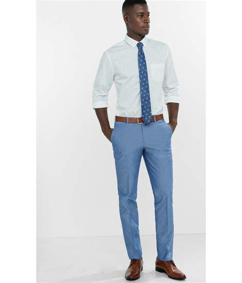 Light Blue Dress Pants For Men Pi Pants