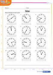 clock worksheet roman numerals math time games quizzes and worksheets for kids