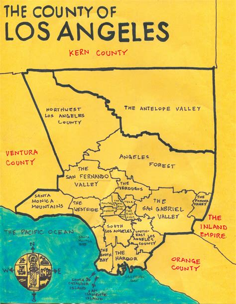 map of los angeles county shawn justin rodriguez was a thief and a liar page 3