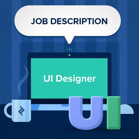 Ui Developer Description by User Interface Ui Designer Description Template Toptal