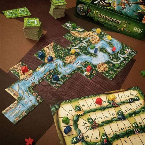 Carcassonne Amazonas Board best 25 carcassonne board ideas on