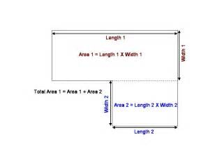 computing square footage find square footage of a house home deco plans