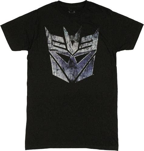 Tshirtt Shirt Transformers transformers decepticon scratch logo t shirt sheer