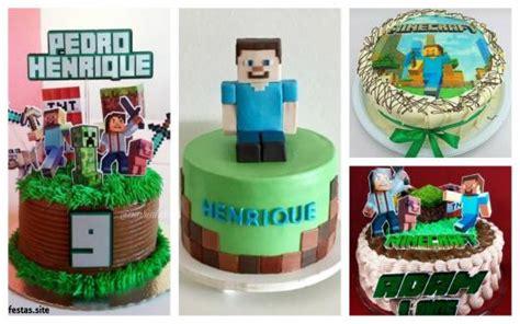 decorar bolo redondo 65 ideias incr 237 veis de bolo minecraft passo a passo para