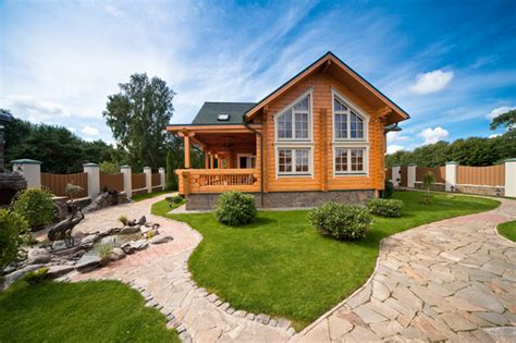 wood house design cozy wooden country house design with interior in colors
