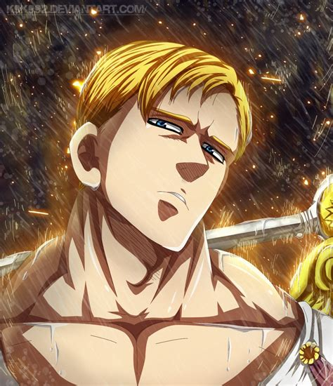 wallpaper anime nanatsu no taizai escanor nanatsu no taizai by k9k992 on deviantart