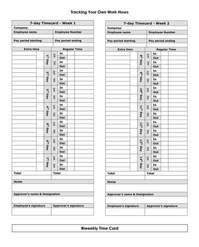 Time Card Numbers Template by Time Card Template Tristarhomecareinc