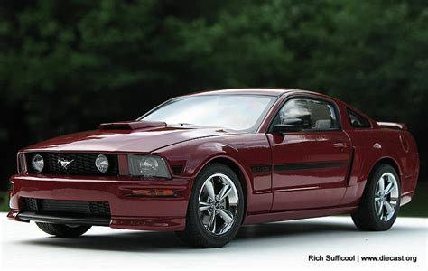 2007 mustang models 2007 mustang gt coupe california special diecast model