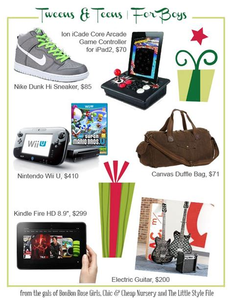 gifts for tween teen boys teens tweens gifts boys