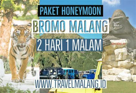 paket honeymoon bromo malang  hari  malam travel malang