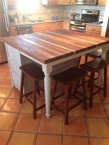 kitchen island breakfast table best 10 butcher block island top ideas on