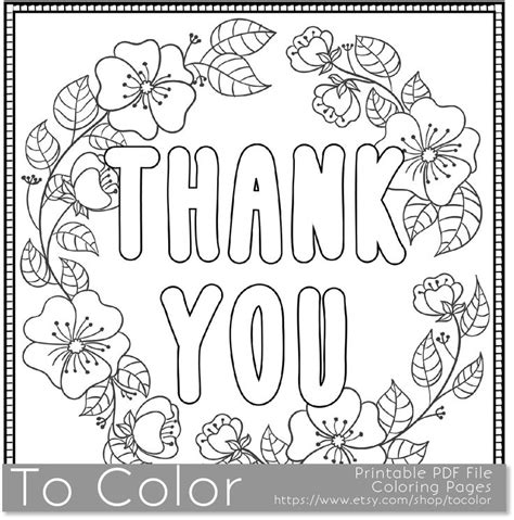 thank you coloring sheet download thank you coloring pages cozy