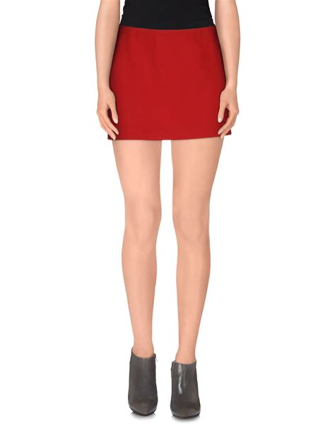 p a r o s h mini skirt in lyst
