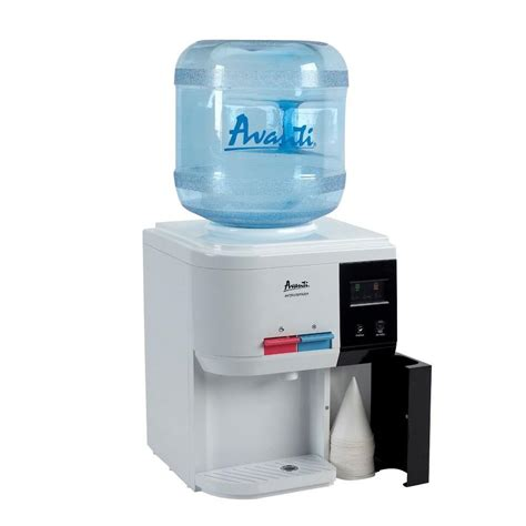 avanti table top thermoelectric water dispenser filtration