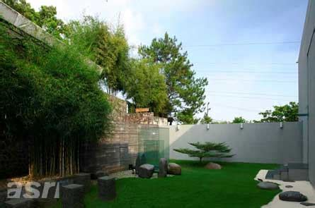 tropical garden design minimalist picture