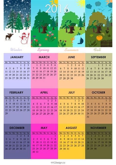 design monthly calendar 2016 التقويم الميلادي calendar 2016 صور التقويم الميلادي 2016