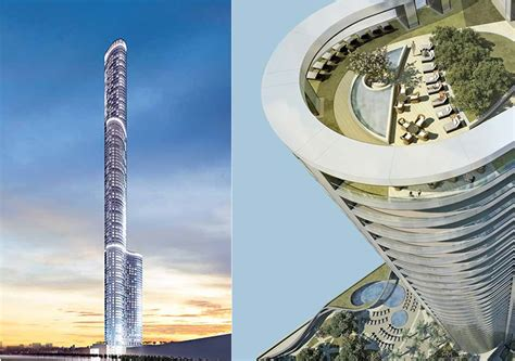 Tower House Plans by Apartments At The World S Tallest Residential Building Go