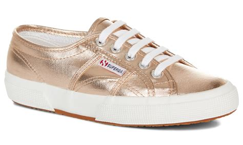 Sneaker Gold superga 2750 cotmetu gold trainers official superga