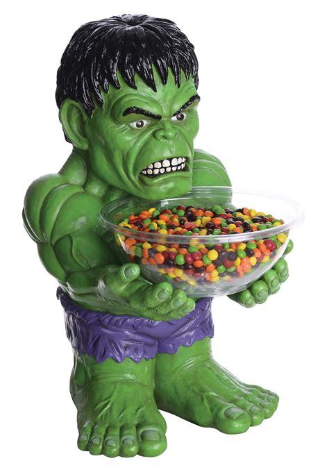 Halloween Decorations Sale - the hulk candy bowl holder