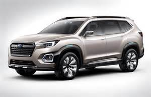 Subaru Concept Subaru Previews New 7 Seat Suv With Viziv 7 Concept