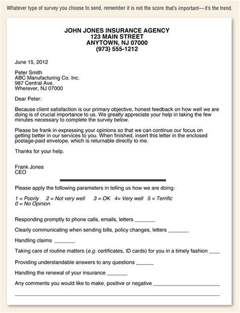 Customer Survey Cover Letter by Customer Survey Cover Letter Gmagazine Co