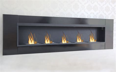 Bioethanol Fireplace Burner by 5 Burner Luxury Chimney Bio Ethanol Gel Fireplace Wall