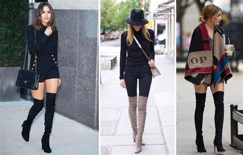how to wear thigh high boots tastefully style magazines