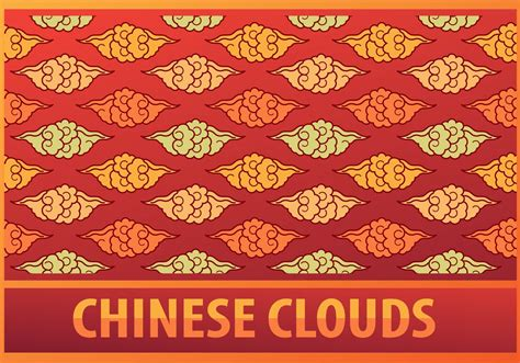 chinese gold pattern vector chinese clouds pattern download free vector art stock