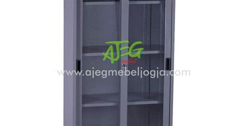 Lemari Vip 602 lemari besi pintu kaca v 602 ajeg mebel jogja