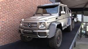 mercedes g63 amg 6x6 2015 start up in depth review