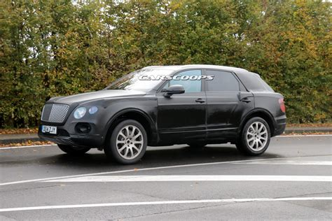 bentley suv bentley s 2017 suv spied testing with 6 0 liter w12 engine