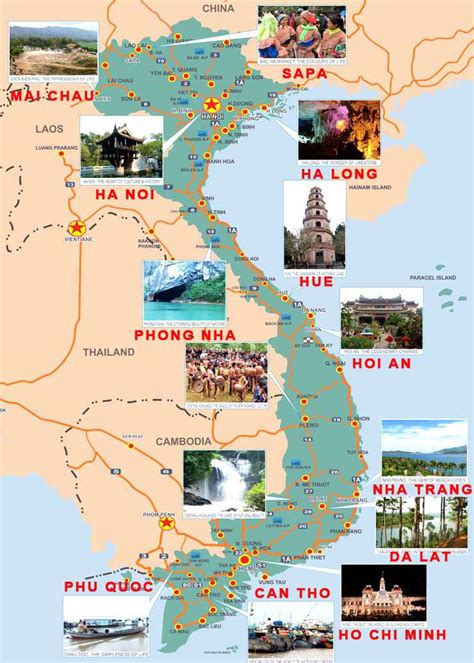 ban do funny travel vietnam