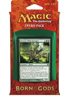 Intro Pack Born Of The Gods born of the gods intro pack insatiable hunger price history from sealed product sealed for mtg