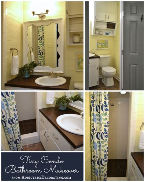 bathroom makeover before and after tiny condo bathroom makeover before and after lake