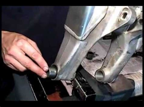 Bearing Swing Arm Vixion pivot works swingarm bearing installation
