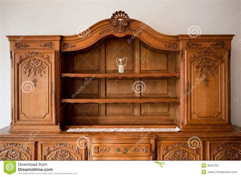 how to buy vintage furniture antique furniture chest of drawers bookshelf stock image