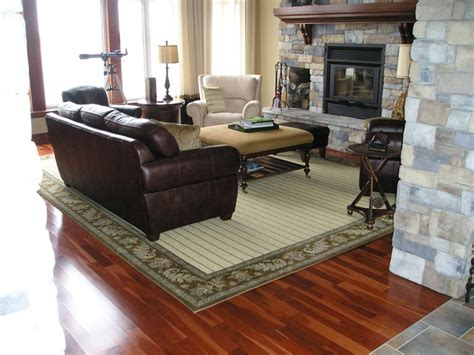 Living Rooms With Area Rugs | wool area rug contemporary living room ottawa by
