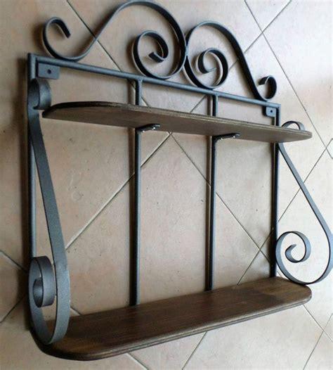 mensola ferro battuto oltre 25 fantastiche idee su arredamento in ferro battuto