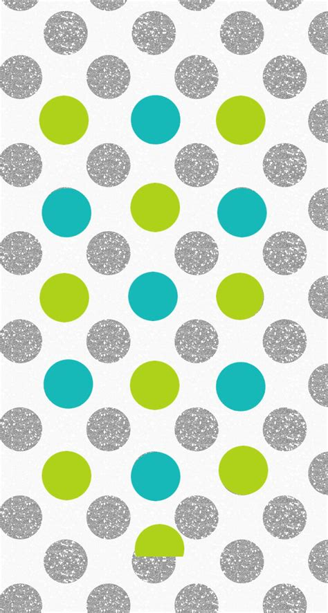 dot pattern lock for iphone silver lime jade polka dots spots iphone wallpaper phone